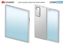Huawei Mate X2's design maybe similar to the Galaxy Z Fold 2: Patent