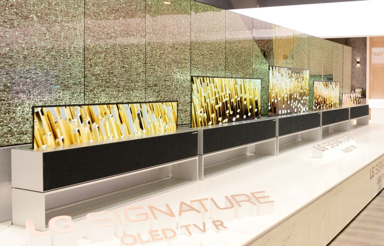 LG Signature OLED TV R reported to go on sale next month