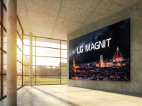 LG is launching a 163 inch TV with a microLED display