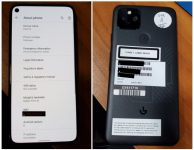 Leaked Google Pixel 5 live shots reveal design and Pixel 5s moniker