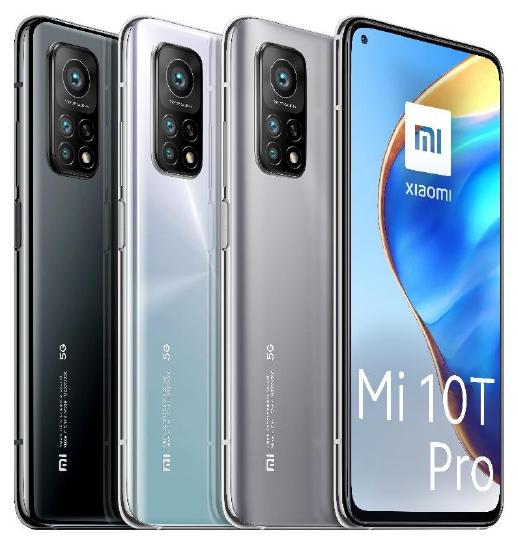 MI 10T Pro 5G all colors