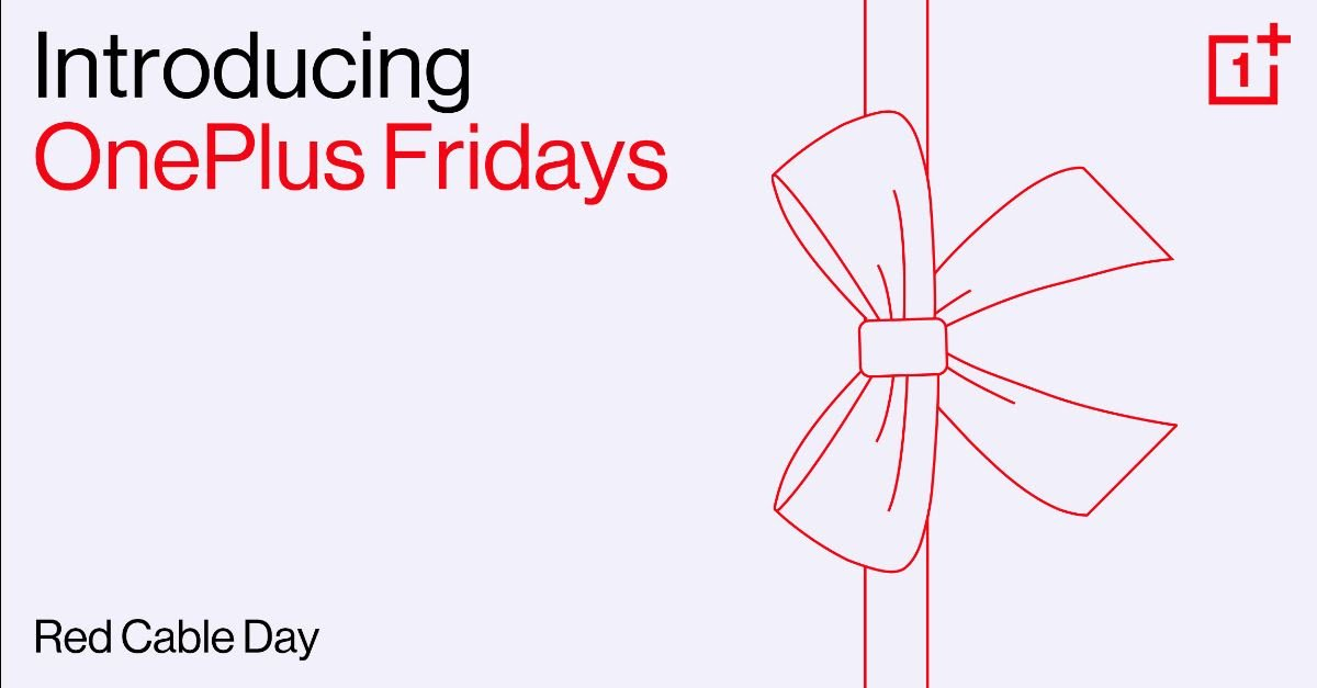 OnePlus Fridays initiative brings attractive offers for the Red Cable Club members