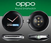 Oppo patents smartwatch with a round 3D curved display