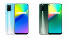 Realme 7i retailer listing reveals two color variants and key features