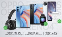 OPPO Reno4 5G, Reno4 Pro 5G & Reno4 Z 5G launched in Europe with freebies
