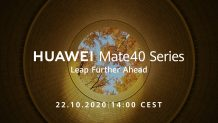 Official: HUAWEI Mate40 series launch date is October 22