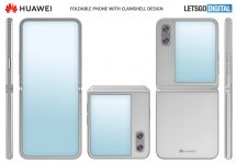 Huawei patents a clamshell foldable smartphone design with a larger cover display