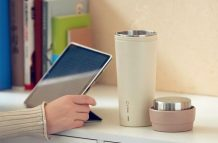 Xiaomi crowdfunds 17Pin Star Travel Mug Electric Kettle for 79 yuan ($12)