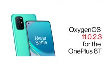 OxygenOS 11.0.2.3 for OnePlus 8T brings a number of fixes