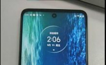 Motorola Kiev live shot and key specs appear, Expected to launch as Moto G 5G