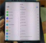 Huawei Mate X2 handled in leaked picture showing a similar design to the Mate Xs