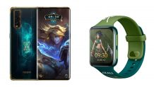 OPPO Find X2 and OPPO Watch League of Legends Limited Editions launched in China