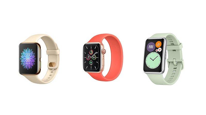 OPPO Watch vs Apple Watch SE vs Huawei Watch Fit: Specs Comparison