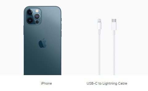 New iPhones will ship with a USB-C to Lightning Cable