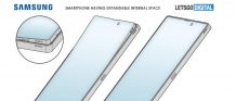 Samsung patents a Smartphone design with Flexible Display and a Pop-up Speaker mechanism