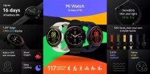 Xiaomi Mi Watch and 65W GaN Charger launched in Europe