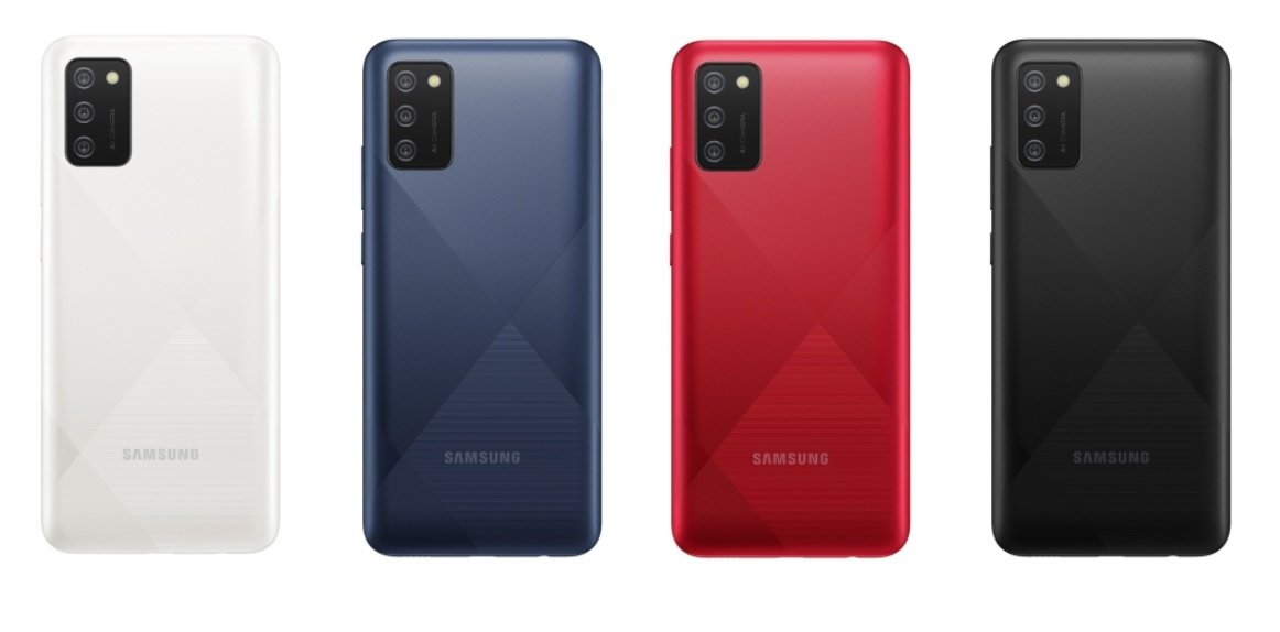 Galaxy A02s all colors