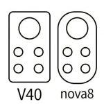 Huawei Nova 8, Honor V40 arriving in December, camera design revealed