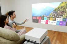 LG launches new 4K projector to bring cinema experience home