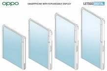 OPPO patents a smartphone design with an extendable display