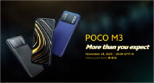 Poco M3 official promo video reveals the design in full ahead of its launch