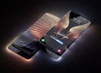 Samsung patents an all-display Smartphone with Transparent housing and Sliding cameras