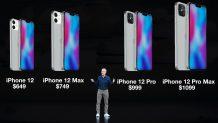 iPhone 12 vs 12 Pro vs 12 Mini vs 12 Pro Max: Specs Comparison