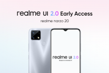 realme narzo 20 'realme UI 2.0 Early Access' program goes live