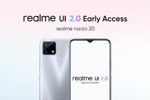 realme narzo 20 'realme UI 2.0 Early Access' program goes live