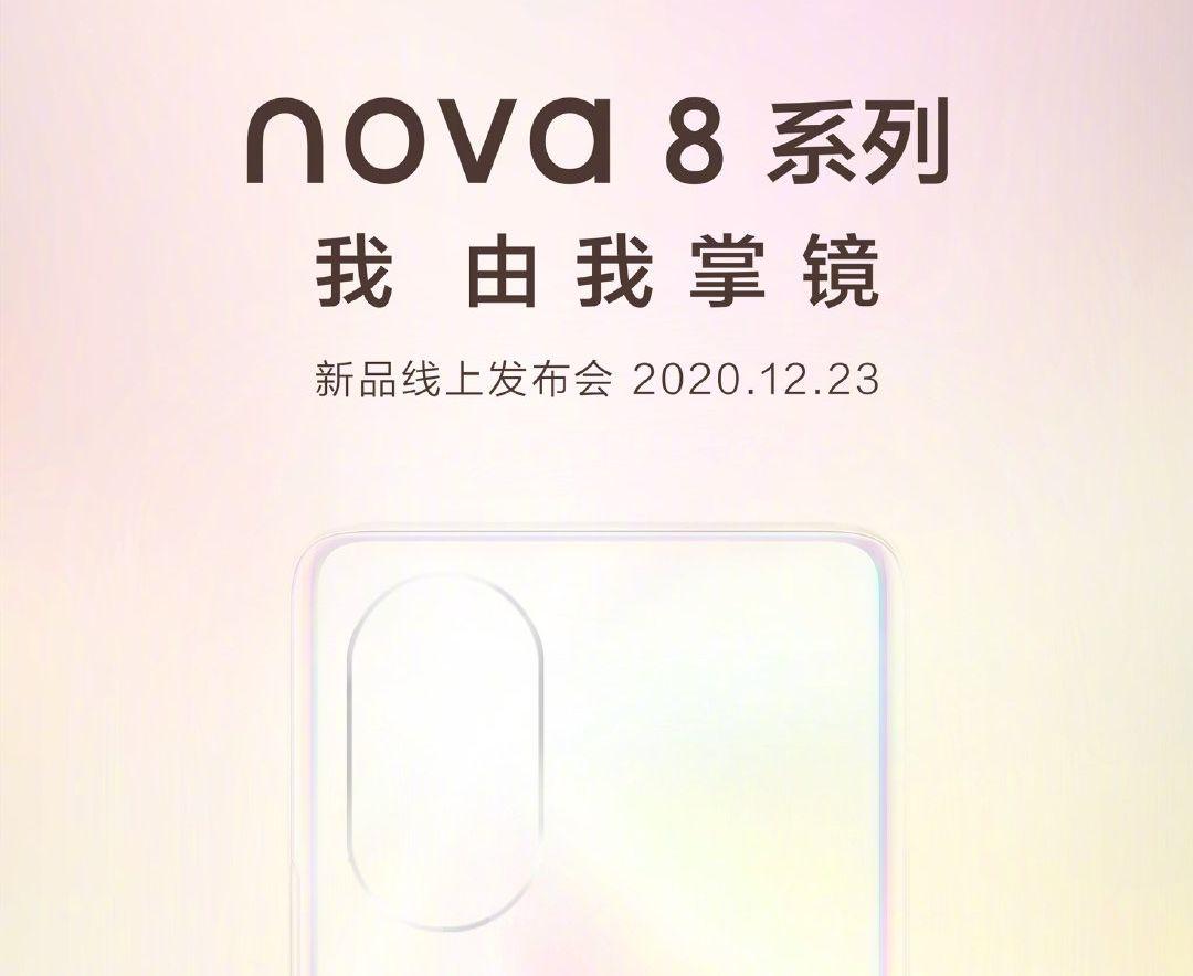 Alleged Huawei Nova 8 Series' specs leaked online ahead of December 23 launch