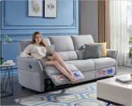 Xiaomi Youpin unveils the Cheers Electric Fabric Sofa with a built-in USB socket