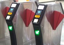 Beijing Metro Line 5 is piloting a new Smart Turnstiles with binocular cameras