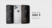 Caviar's custom iPhone 12 Pro is inspired by the iPhone 4 & is dedicated to Steve Jobs
