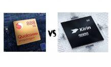 Chip Battle: Snapdragon 888 versus Kirin 9000