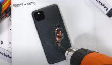 Google Pixel 5 durability test found metal under layers of plastic