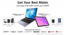 Huawei MateBook 14 and MatePad T 10S to launch in Singapore on January 16