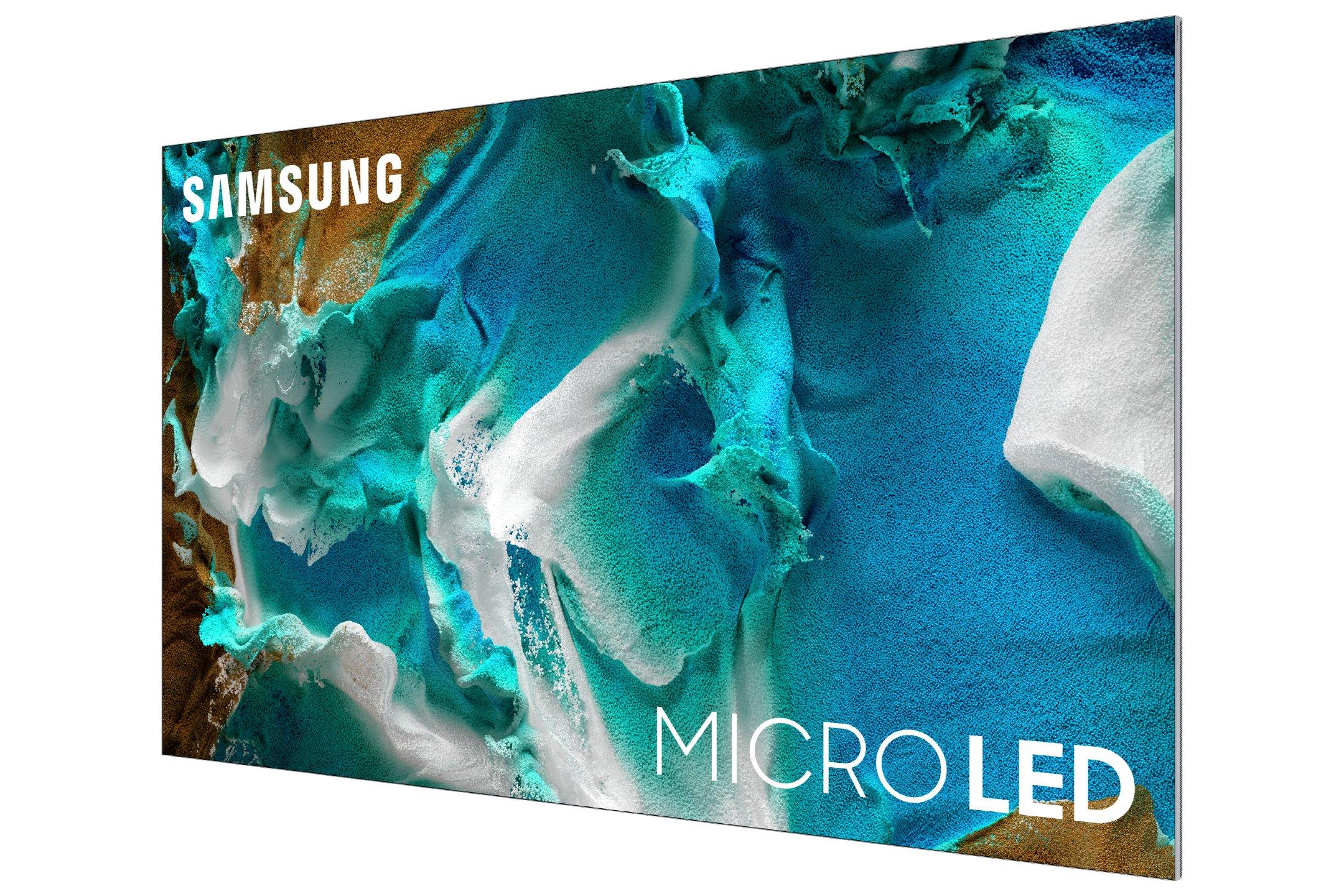 Samsung's microLED panel