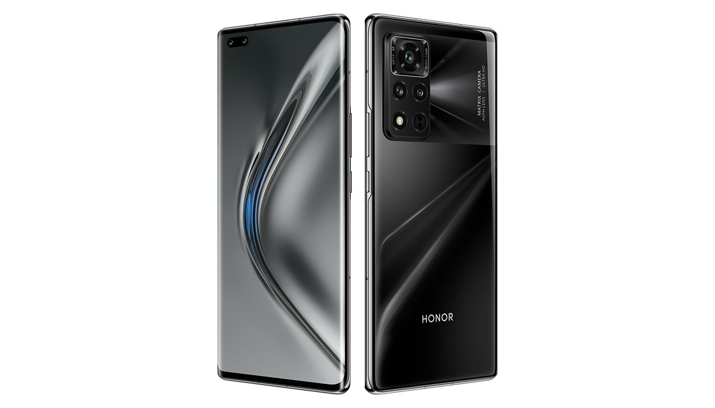Honor V40 official renders and hands-on images appear before launch