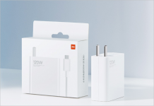The 120W Mi Charger (second charge version) delivers 100% full charge in 23 minutes
