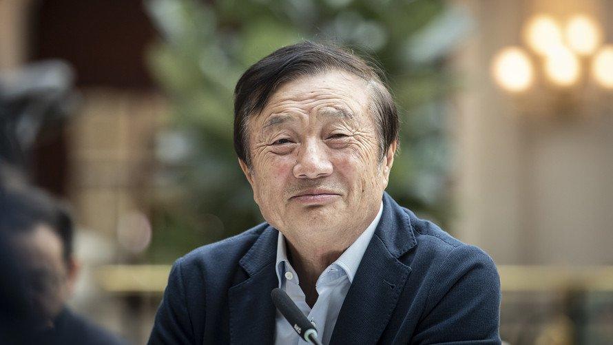Zhengfei Ren, Huawei founder and CEO