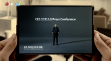 LG quietly teases its Rollable Smartphone at CES 2021 but gave no details