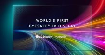 LG showcases the world's first Eyesafe certified TV display