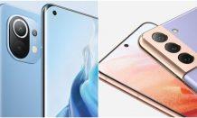 Xiaomi Mi 11 vs Samsung Galaxy S21: Specs Comparison