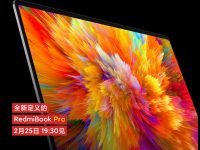 Xiaomi teases the RedmiBook Pro's display, features ultra thin bezels
