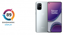 "OnePlus 8T praised by DxOMark for its ""smooth"" Display, scores 89 points"