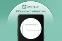 OnePlus patents a smartphone design with a bezel selfie camera