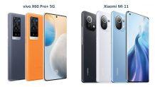 Xiaomi Mi 11 vs Vivo X60 Pro+: Specs Comparison