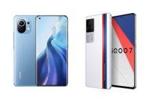 Xiaomi Mi 11 vs iQOO 7: Specs Comparison