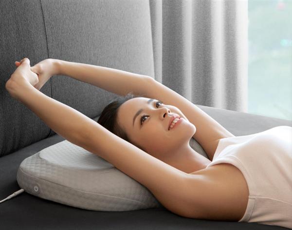 Xiaomi crowdfunds the LEGA AI Smart Cervical Massage Sleep Pillow