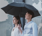 90-Points launches Fully Automatic Folding Umbrella with Flashlight
